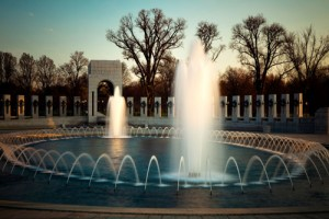 Iraq War Memorial Fountain